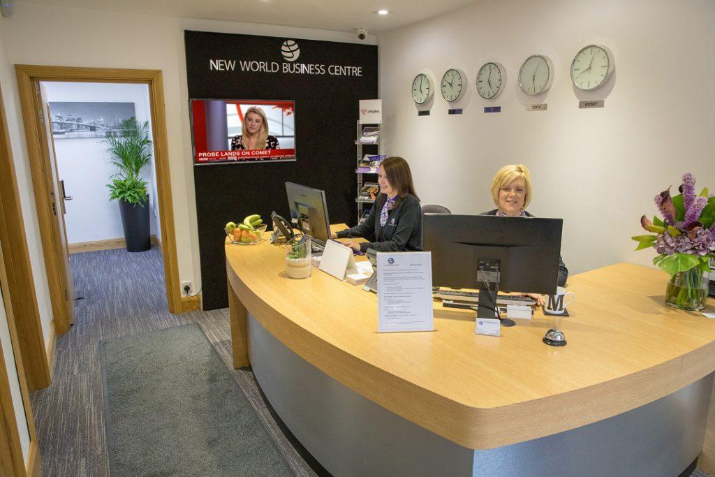 Reception New World Business Centre